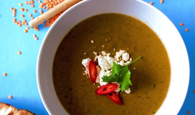 Silence & South-Asian Inspired Lentil Soup