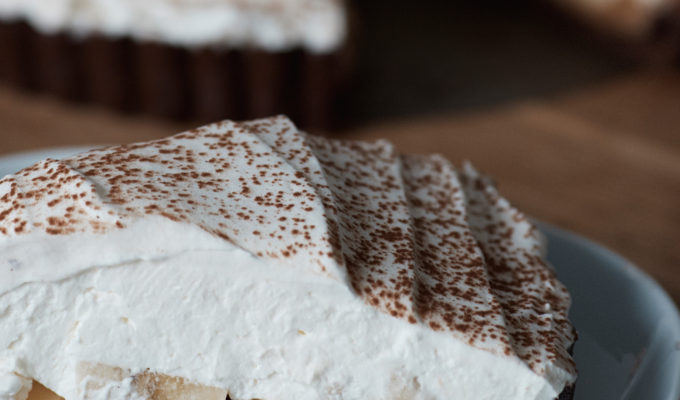 British Invasion: Chocolate Banoffee Pie