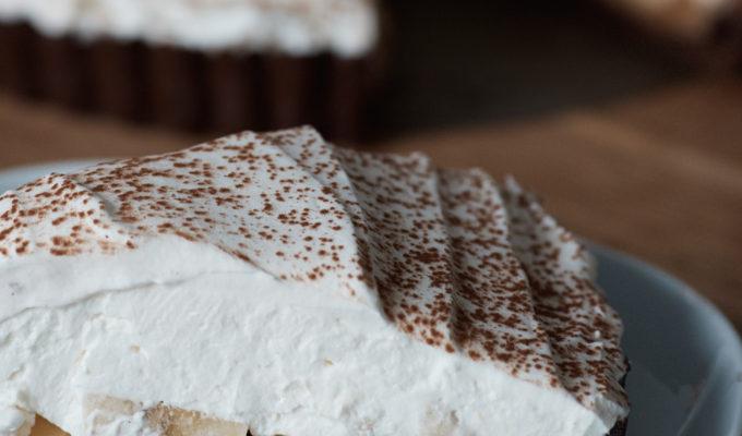 British Invasion: Chocolate Banoffee Pie